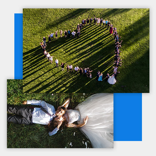 Drone Photography for Weddings