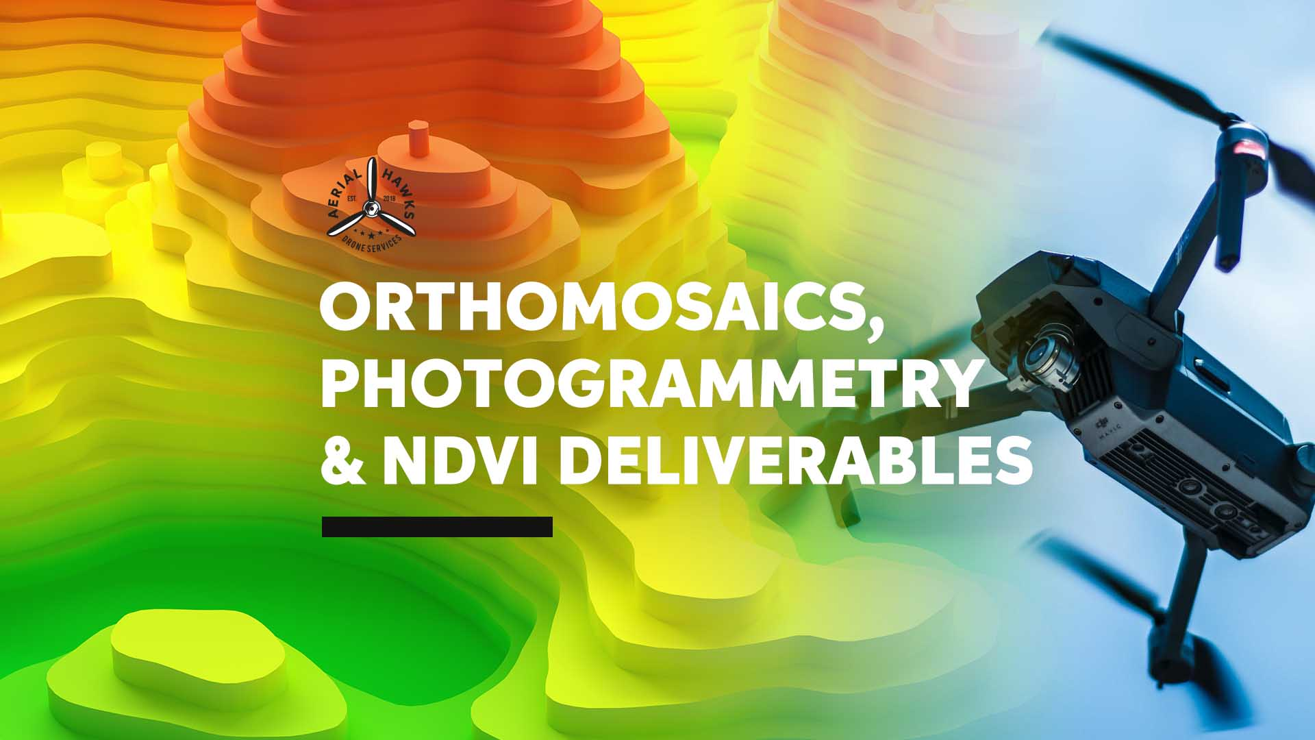 ORTHOMOSAICS, PHOTOGRAMMETRY & NDVI DELIVERABLES